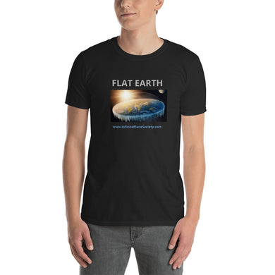 FLAT EARTH, Infinite Plane Society, Short-Sleeve Unisex T-Shirt
