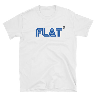 FLAT EARTH, SEGA SYTLE, Short-Sleeve Unisex T-Shirt