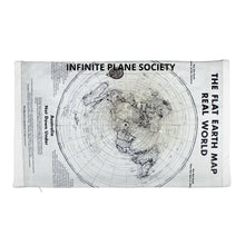Load image into Gallery viewer, FLAT EARTH MAP PILLOW CASE, IPS Premium Pillow Case only