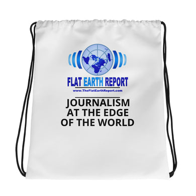 The FLAT EARTH REPORT, Drawstring bag