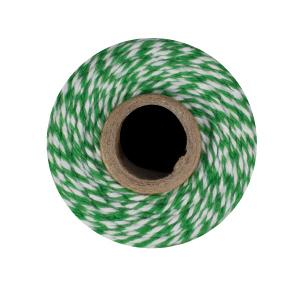 Green & White Bakers Twine