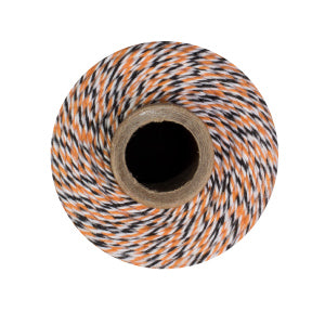 Halloween Twine - Orange, Black & White Bakers Twine