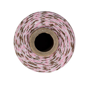 IceCream Twine - Pink, Brown & White Bakers Twine