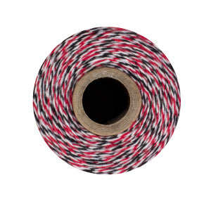 Ladybug Twine - Red, Black & White Bakers Twine