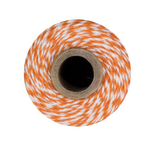 Orange & White Bakers Twine