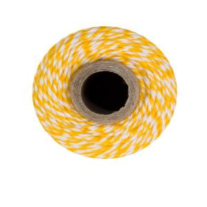 Yellow & White Bakers Twine