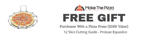 Free Slice Guide with Purchase of a Pizza Press