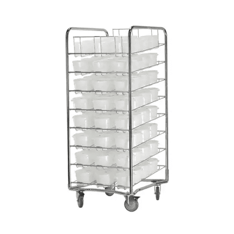 Proluxe Mobile Dough Storage Cart - DC96 / DC96N - Make The Pizza