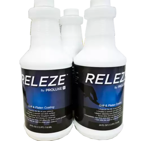 RELEZE Non-Stick Spray for Dough Presses and Grills