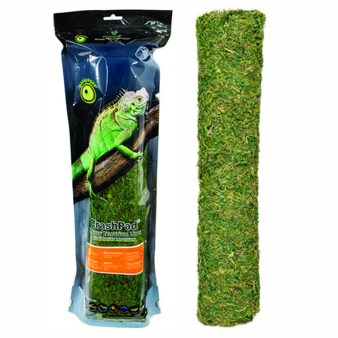 "Reptile CrashPad - Mossy Terrarium Liner by Galapagos (18"" x 36"")"