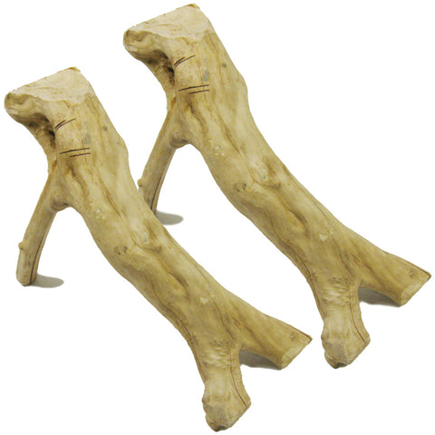 Big Apple's Java Wood TWO PACK of Large Basking Perches