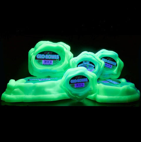 Zoo Med Glo Bowls - Glow-in-the-Dark Combo Bowls