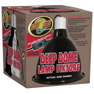 Zoo Med Repti Extra Deep Dome Lamp Fixture