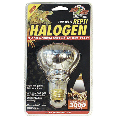 Zoo Med Halogen Lamps