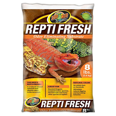 Zoo Med ReptiFresh Odor Eliminating Substrate - 8 lbs. Bag