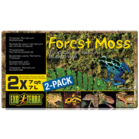Exo Terra Forest Moss (2-Pack - 7 qts Each)