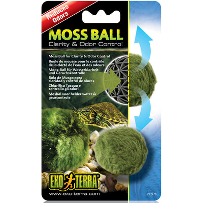 Magic Moss Sphere for Water Clarity & Odor Control