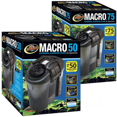 Zoo Med Macro 50 Gallon External Canister Filters