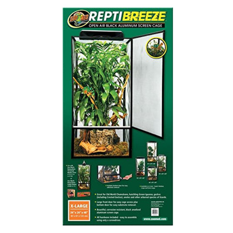 Zoo Med Repti Breeze Aluminum Screen Cage