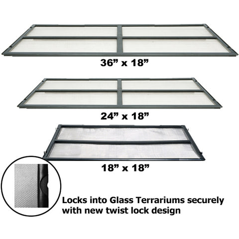 Replacement Screen For Exo-Terra Glass Terrarium