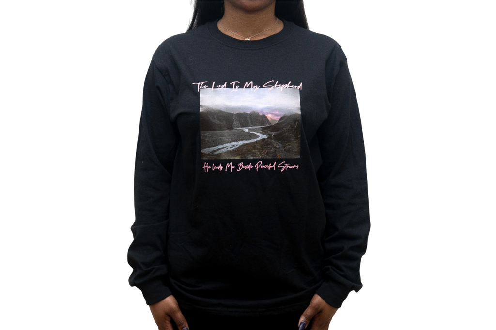 The Lord Is My Shepherd - Long Sleeve