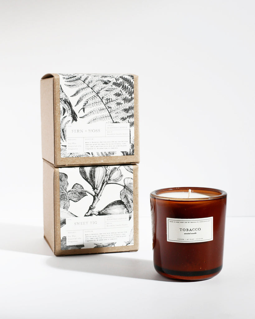 Amber Apothecary Candle 6-Pack