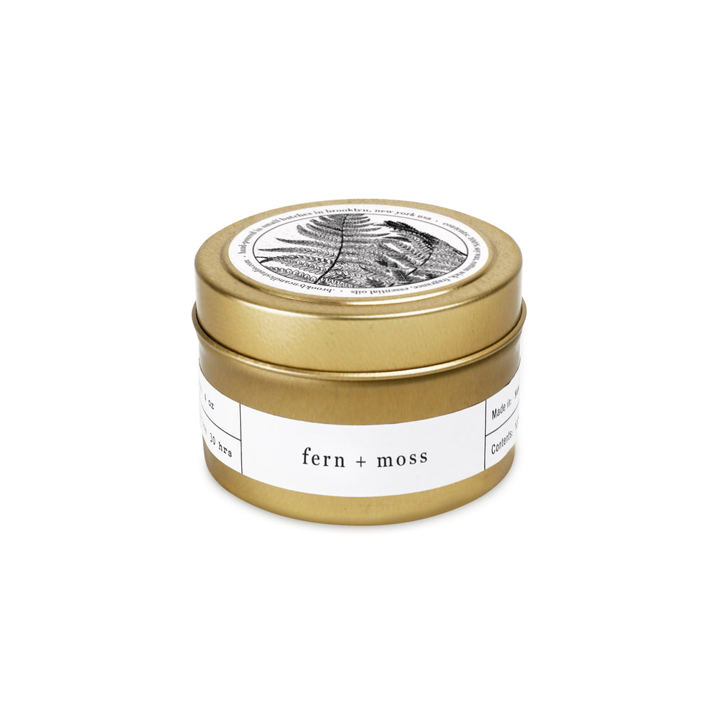 Gold Travel Candle 5-Pack