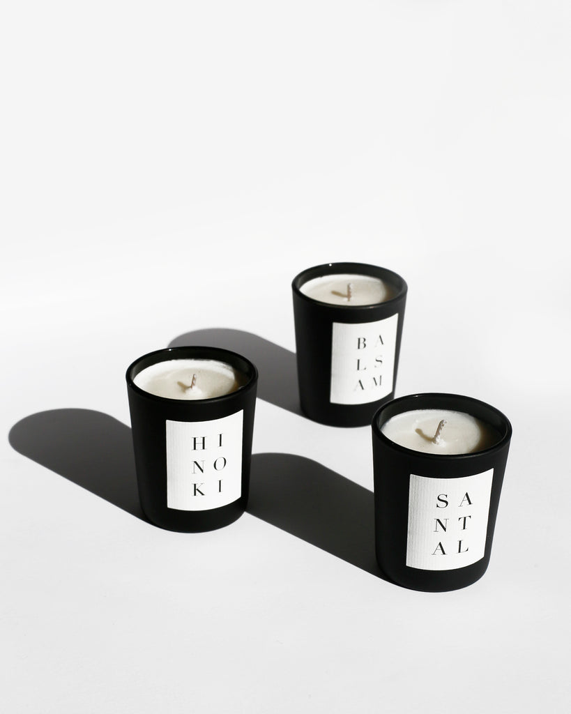 NOIR Votive Set 4-Pack