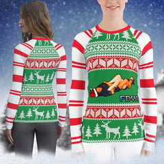 FDVA ugly sweater rashguard