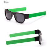 Retro-Slap-Wristband-Polarized-Sunglasses-green