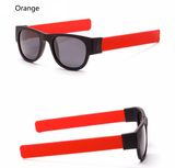Retro-Slap-Wristband-Polarized-Sunglasses-orange