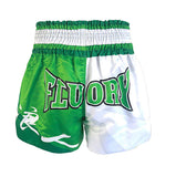 Ronin-Printing-Muay-Thai-Shorts-green-back