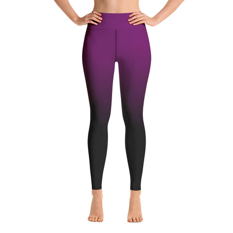 Women-MMA-BJJ-belt-ranked-leggings-purple