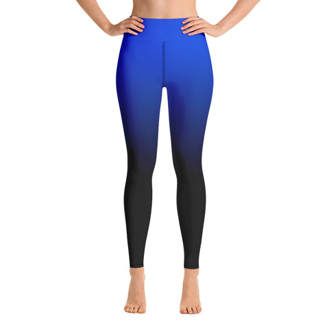 Women-MMA-BJJ-belt-ranked-leggings-blue