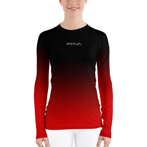 Women-MMA-BJJ-belt-ranked-rashguard-black