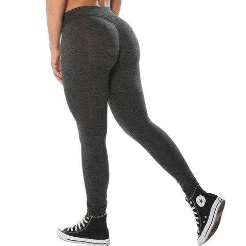 Women-high-push-up-leggings-black-grey