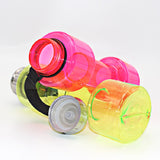 Dumbbell-shaped-water-bottle-pink-green