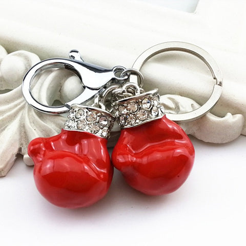 women-boxing-gloves-key-chain-red-silver