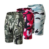 Elastic-Sports-Short-three-camouflage-colors