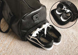 black-leather-gym-bag-with-shoe-compartment