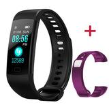 fitness-smart-watch-waterproof-black-additional-bracelet-purple