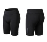 Elastic-biker-Sports-Short-black