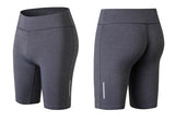 Elastic-biker-Sports-Short-grey