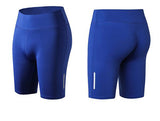 Elastic-biker-Sports-Short-blue