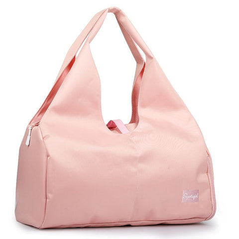 pink-waterproof-gym-bag-front-shoot
