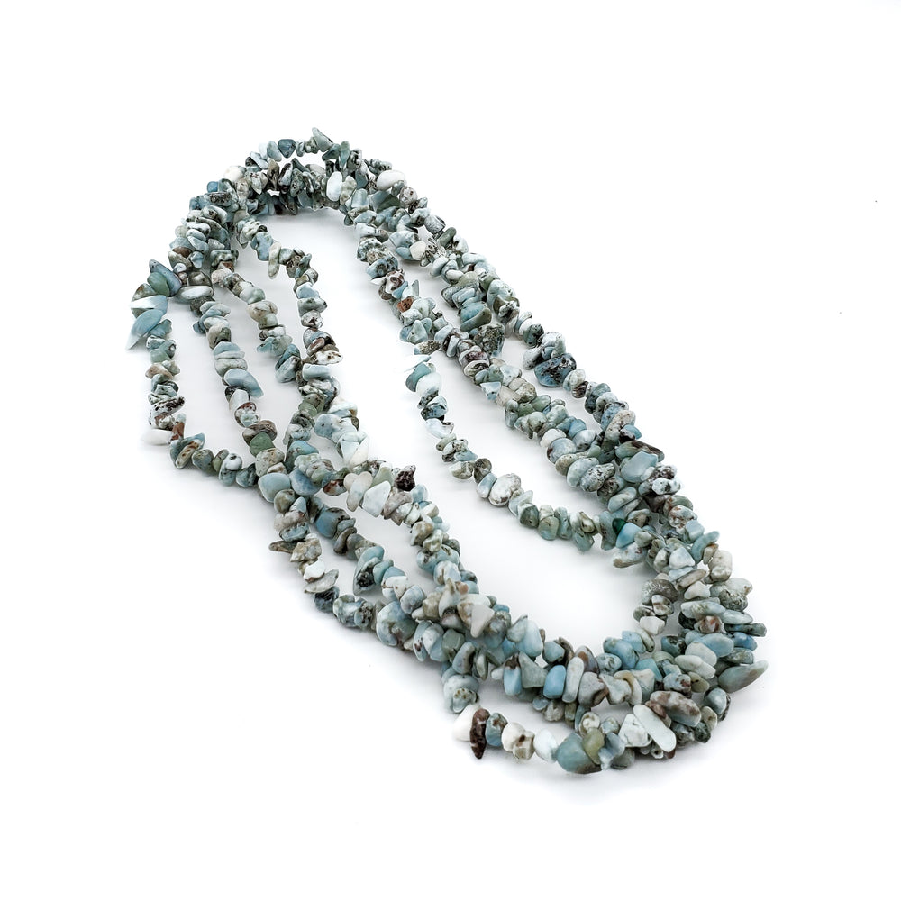 Larimar Necklace, Edith