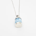 Barrel Larimar Pendant, London
