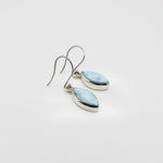 Dangle Larimar Earrings, Roxanne I