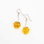 Amber Dangle Earrings, Sandra