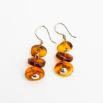 Amber Dangle Earrings, Sylvaine